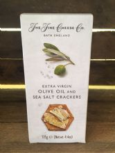 Extra Virgin Olive Oil & Sea Salt Crackers